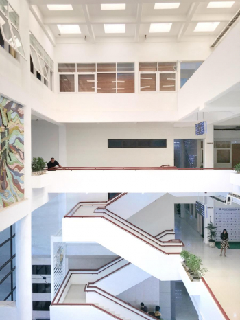 Full Natural Daylighting in Central Administration Building, USU