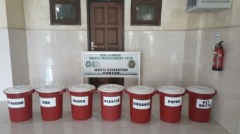 Waste Separation Center at Abdul Hakim Building, Faculty of Medicine USU as a Pilot Project for Waste Separation Program