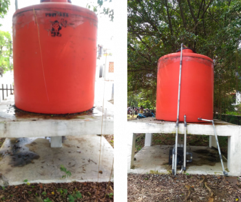 Rainwater Harvesting at the Faculty of Engineering