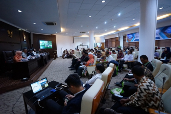 Sustainable Lake Toba Tourism Meeting, held by Lake Toba Tourism Area and Sustainable Tourism Working Group (KK-PKDT & PB)